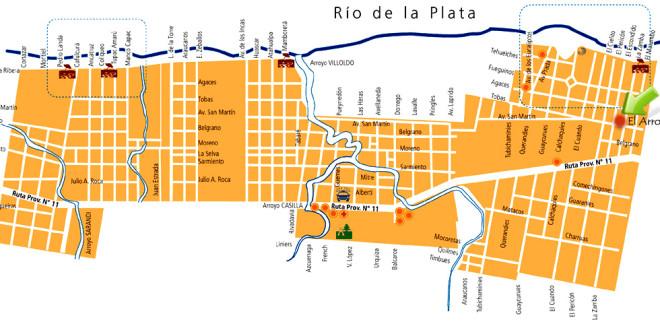 el-arroyito-mapa
